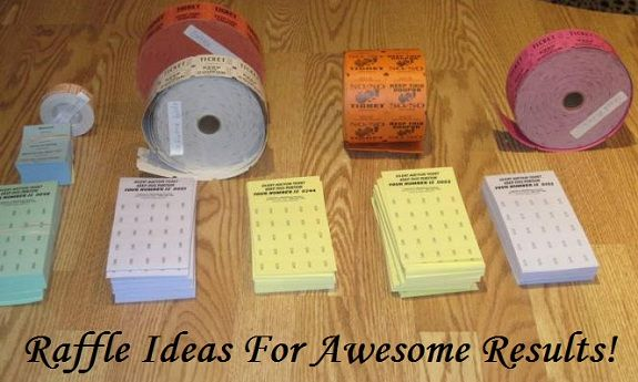 """Raffle ideas for awesome results! Lots of """"how to"""" tips on getting the best results from your fundraising raffles. Prize ideas, raffle formats, and selling more raffle tickets are all covered."""