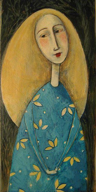new painting by jamjarart, via Flickr  by Joy Williams