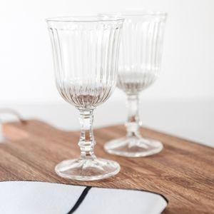 Verre à eau et vin sur pied (par 6) Belem Côté Table