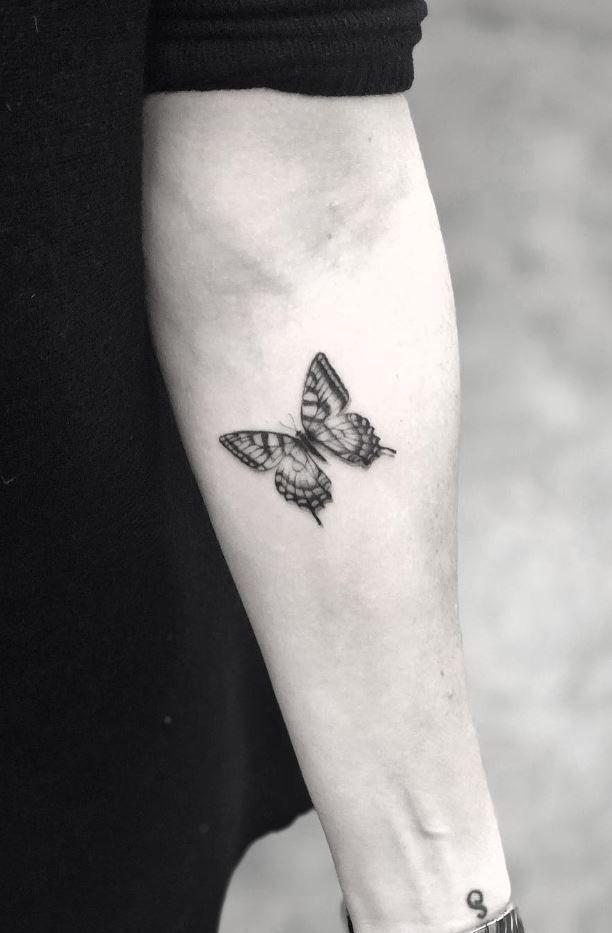 Kleines Schmetterling Tattoo Kleiner Schmetterling Tattoo