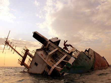 Ибрахим Яким потерпевший кораблекрушение
