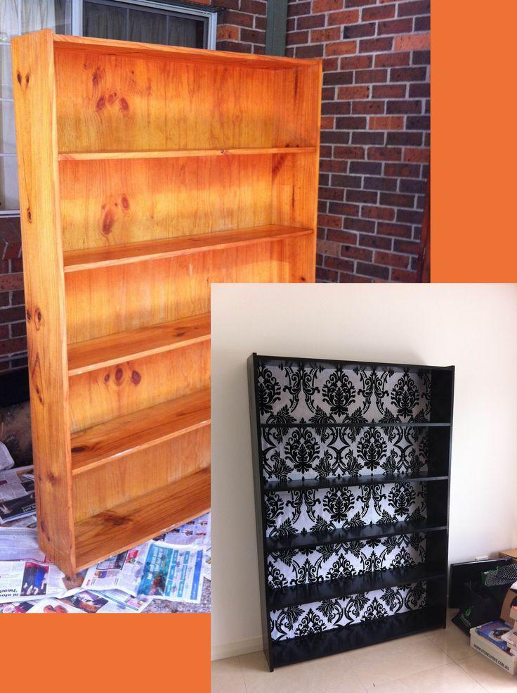 DIY+Bookcase+Renovation