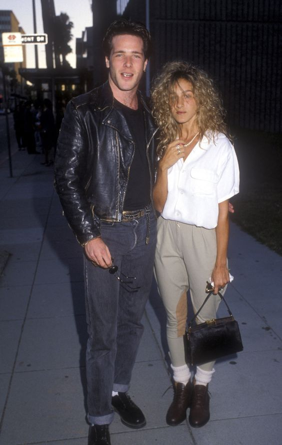 sarah jessica parker- grunge, fresh out the bando look.