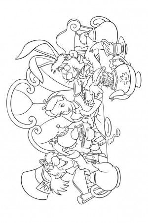 find thousands of amazing disney coloring pages of all the popular disney movies and characters disney coloring pages of winnie the pooh disney princesses - Princess Tea Party Coloring Pages