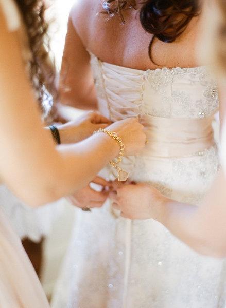 Bridesmaides and bride