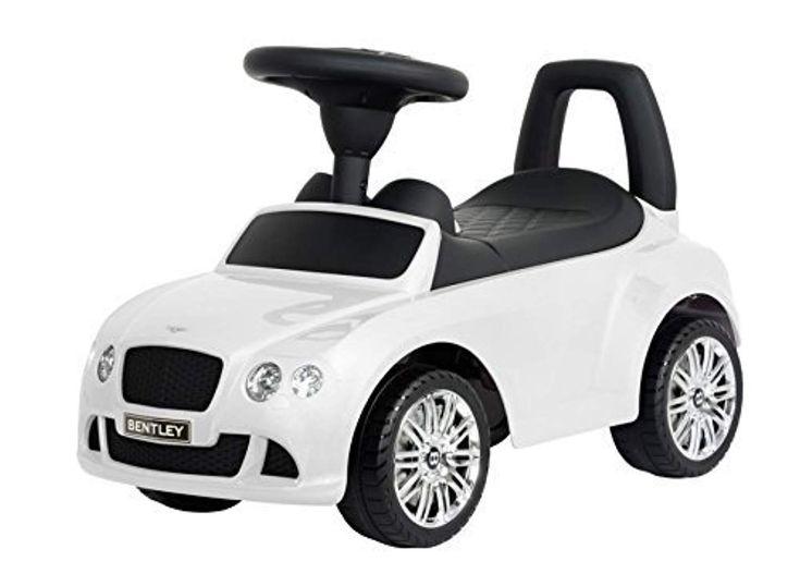 Der Spielzeugtester hat das Bentley Rutschauto Continental GT Speed Kinder Auto Baby Car (White) angeschaut und empfiehlt es hier im Shop. Vielen Dank, dass Ihr die Spielzeugtester Seite aufgerufen habt. Ich gebe mein Bestes, um möglichst viele Produkte zu testen. Der Hersteller hat mir diese … – Spielzeugtester