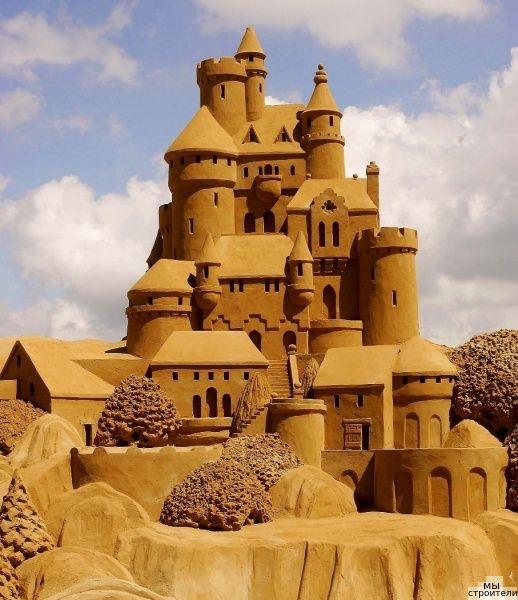 Песок намывной для строительства и ремонта