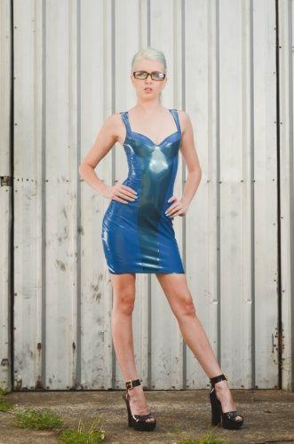 Fetish Bunker - Panelled Bra Top Dress