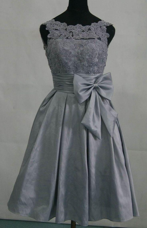 Grey lace wedding dress  Ann Marie Ballard aballard on Pinterest
