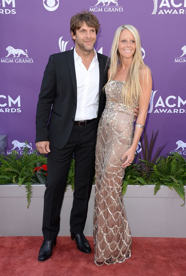 Billy Currington's Plus One (uh, and Billy Currington) At The 48th Annual Academy Of Country Music Awards