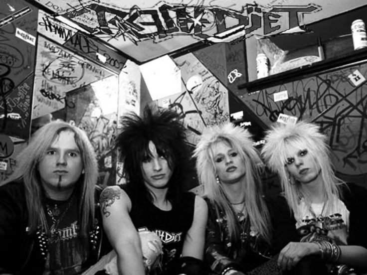 Crashdiet with Dave (R.I.P.)