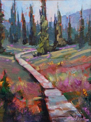 """Around the Meadows"" - Original Fine Art for Sale - © Brian Buckrell"