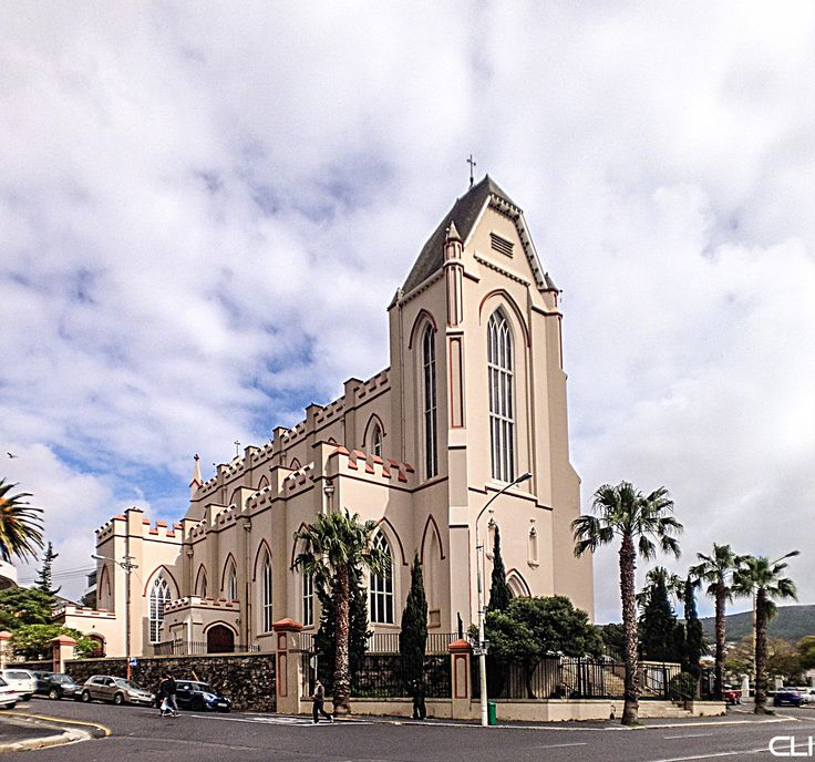 Catholic Cathedral, opposite Parliament in Cape Town, South Africa