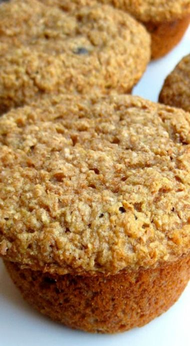 honey whole wheat bran muffins