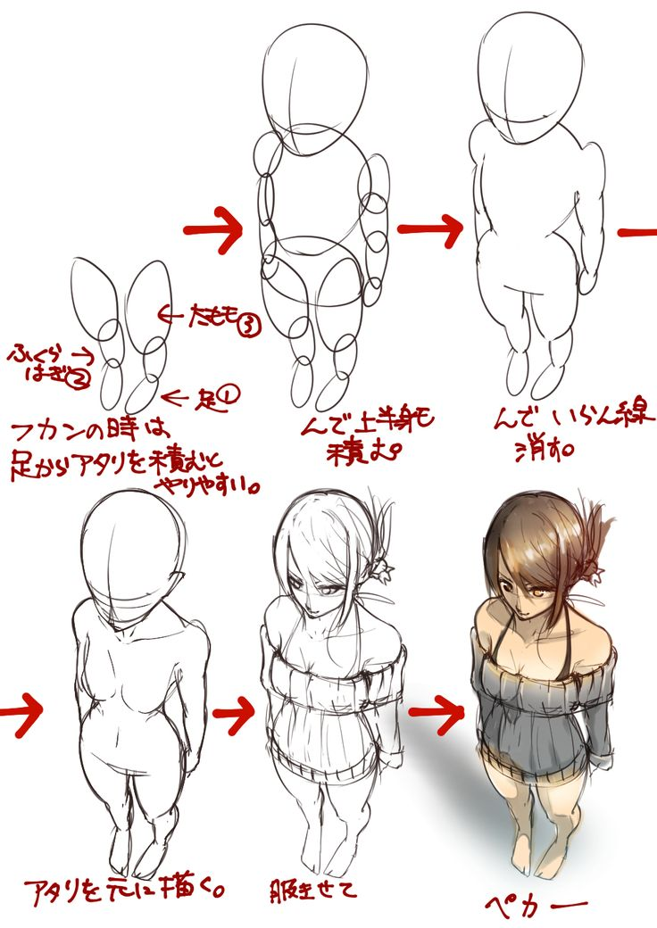 25 best ideas about manga poses on pinterest manga for Cartoon body tutorial