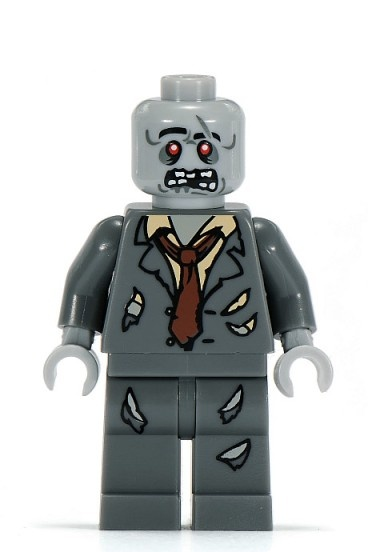LEGO Zombie Mini-Figure