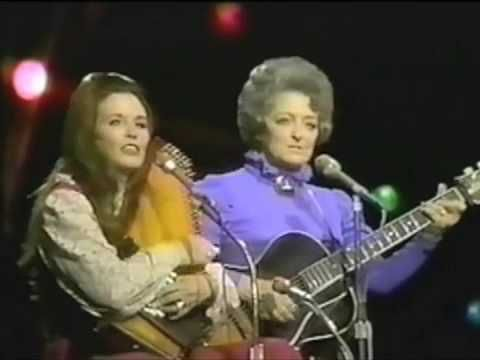 "From the March 17, 1971 episode of ""The Johnny Cash Show,"" June and Mother Maybelle duet on ""No Hiding Place Down Here."""