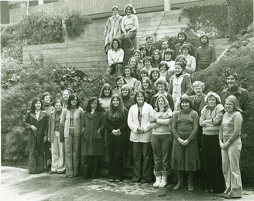 Waurn Ponds student campus residents 1976 - 1970s. Geelong, Australia