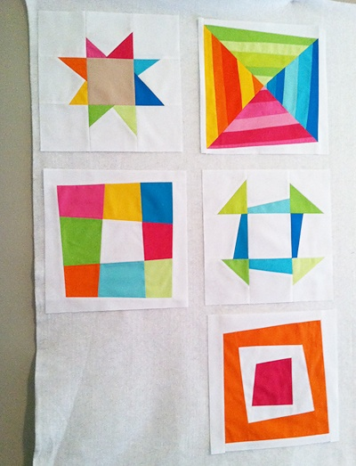 Oh my goodness, I love these squares by Fresh Lemons.