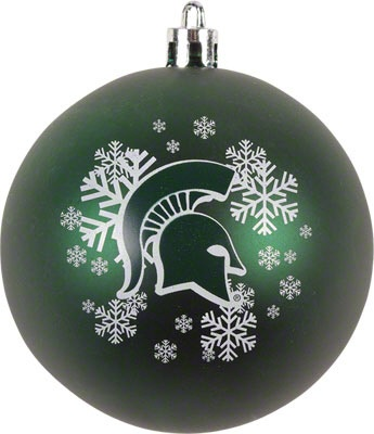 Michigan State Spartans Shatterproof Ornament...I need this!