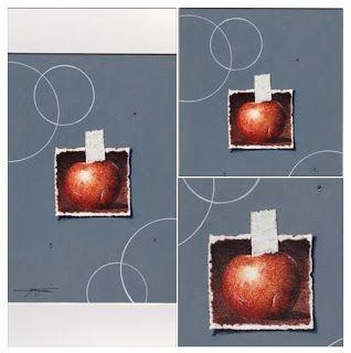 Massimo Capogna - Artist:   Tecnica mista acquerello al caffè con penne sta...