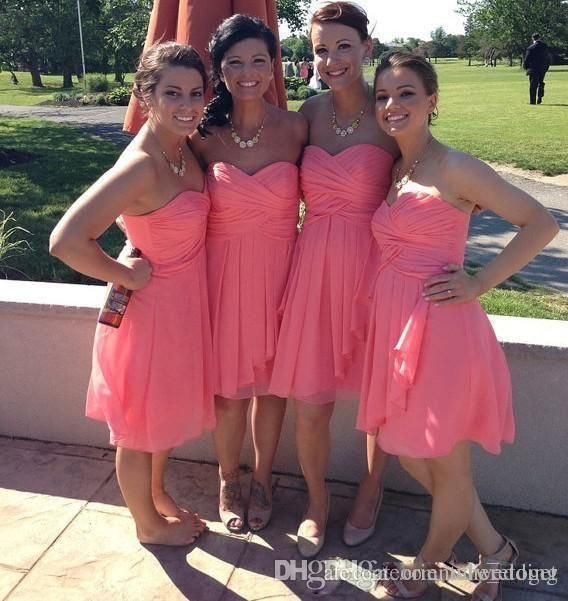 I found some amazing stuff, open it to learn more! Don't wait:http://m.dhgate.com/product/2017-cheap-country-coral-bridesmaid-dresses/395065412.html