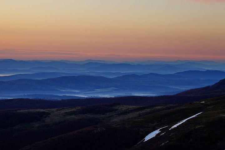 Jak na obrazie... Niesamowity widok Bieszczad. #Bieszczady #Podkarpacie #widoki #natura/ #Poland #nature #view