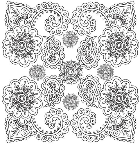 102 best adult colouring zen/patterns! images on pinterest ... - Simple Therapeutic Coloring Pages