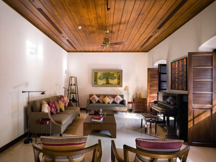Remodel A Nineteenth Century Villa Living Room InteriorThe ArchitectIndian