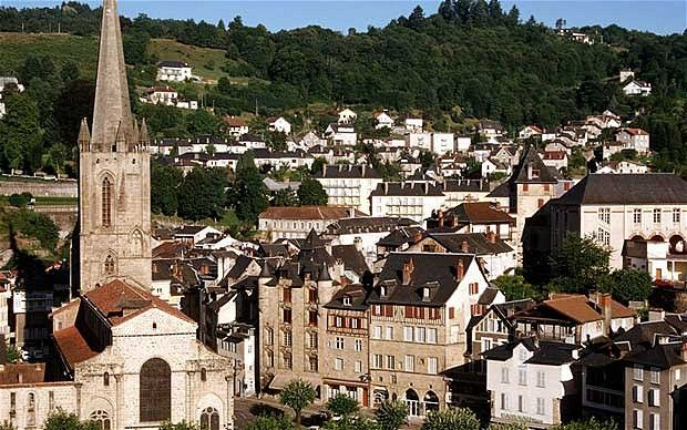 France. Limousin. You should also pop in to see the lace-making ladies of Tulle, down the side of the cathedral