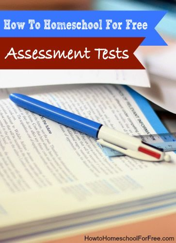 Visit How To Homeschool For Free for a list of free online assessment tests for homeschool.    Find more homeschool freebies here!