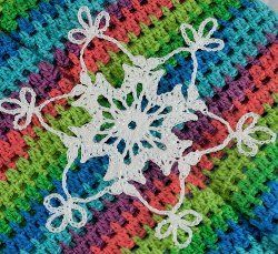 Midnight Oil Snowflake | AllFreeCrochet.com