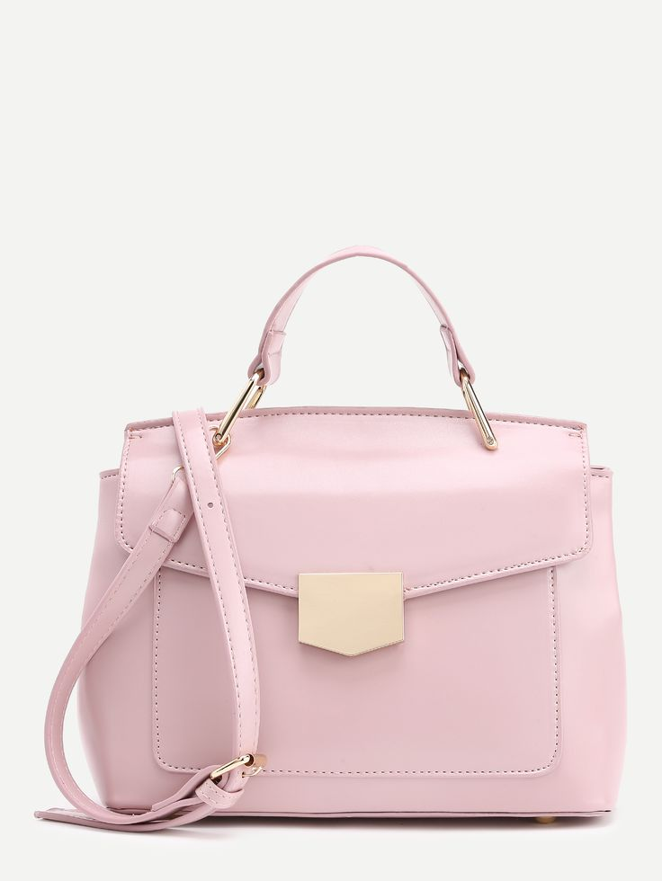 Shop Metal Detail PU Shoulder Bag online. SheIn offers Metal Detail PU Shoulder Bag & more to fit your fashionable needs.
