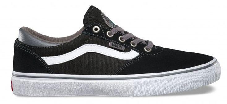 Vans Gilbert Crockett Pro Skate Shoe, Uk 11, Black/Pewter