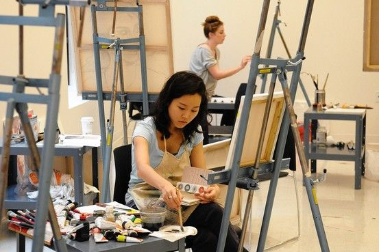"""""""Artists can have good careers, earning a middle-class income,"""" says Anthony Carnevale, director of Georgetown University's Center on Education and the Workforce. """"And, just as important and maybe more, artists tend to be happy with their choices and lives."""""""