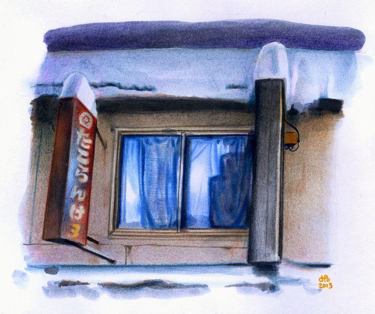 Bienvenue en automne, pour fêter ça voici une fenêtre aperçue à Sapporo en décembre dernier, car oui l'automne dure jusqu'en décembre. Mê...