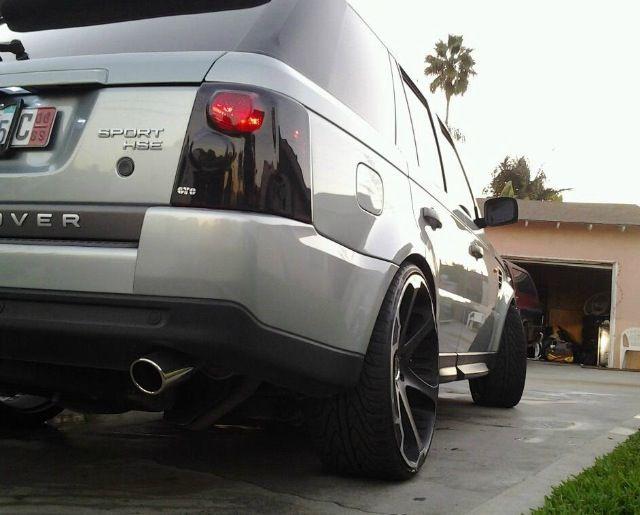 2006 Range Rover Sport Sitting On 24s Whips Pinterest