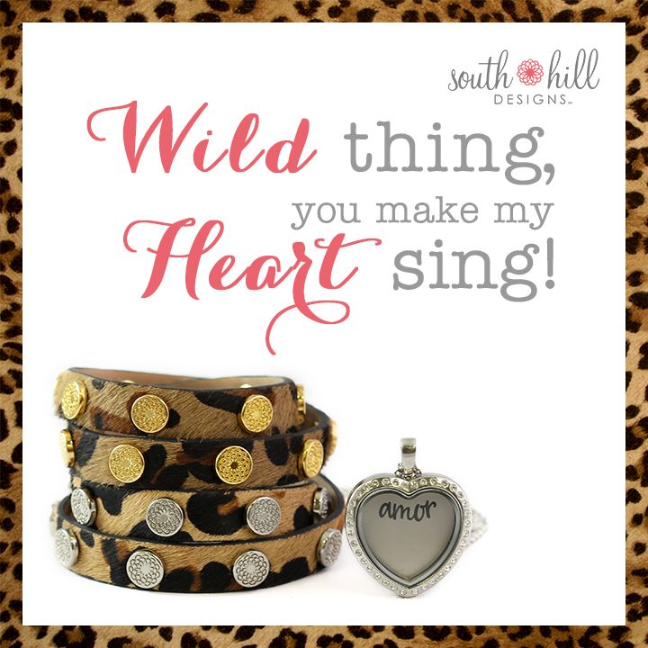 Let your wild side out this spring with our new arrivals to the South Hill Designs collection!   Www.southhilldesigns.com/insidestory