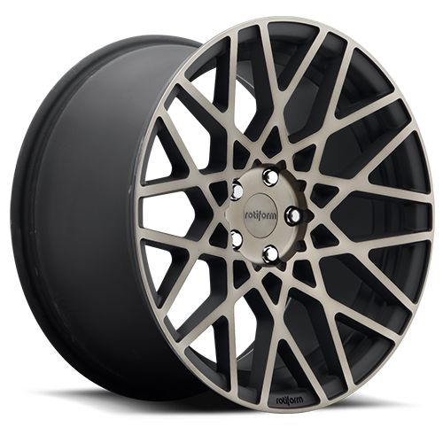 Rotiform BLQ Wheels Black Machined 18x8.5 | 5x112 | ET45