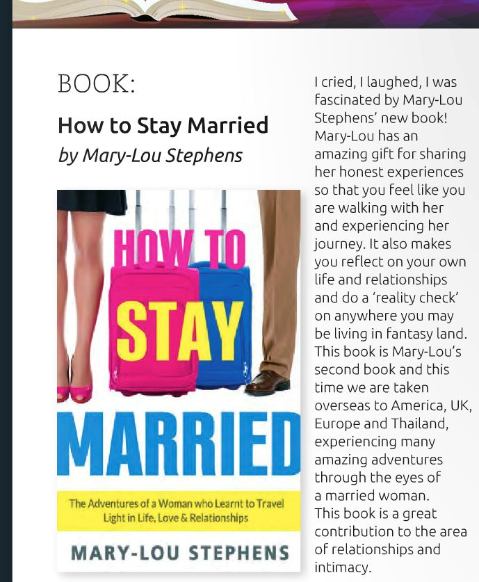 How To Stay Married - Holistic Bliss Review April 2015