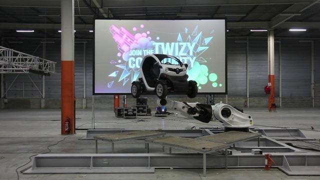 """Making Of - Renault Twizy exhibition at """"L'Atelier Renault"""", flagship store Champs Elysées, Paris 2012. Conception, art direction & scenography : Nicolas Giroud (untitledstudio.fr) & Grégory Le Chaix (gregorylechaix.com) - Motion design : Rémi Paoli (cargocollective.com/remipaoli)"""