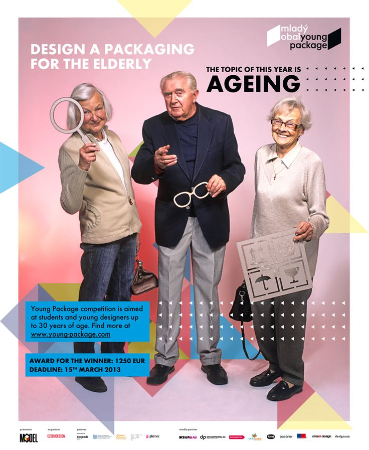 -Poster for Young Package 2013- the topic of this year is ageing