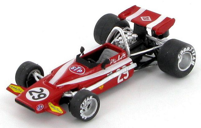 Model of the Bellasi Ford as entered for the 1970 Dutch Grand Prix at Zandvoort for Silvio Moser.