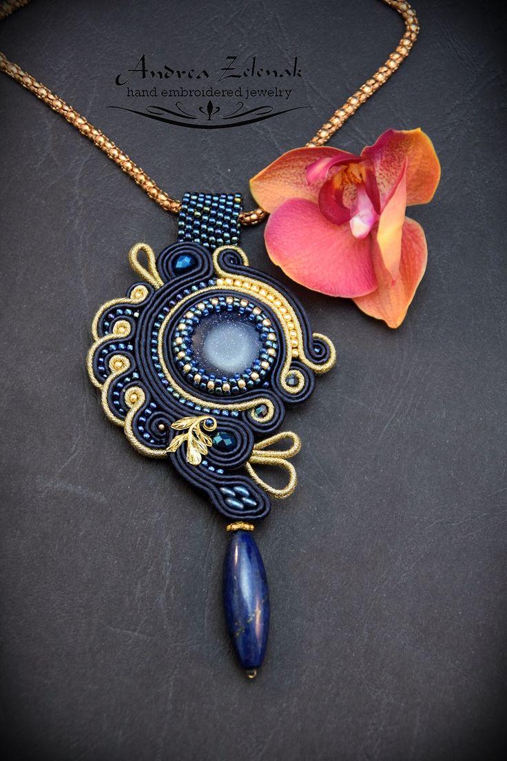 Soutache necklace S0283
