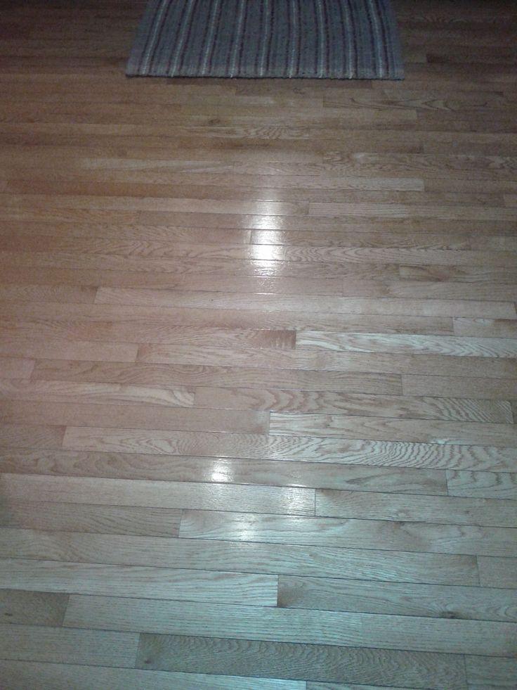 Hardwood, Vinyl Floor Cleaner..4 Drops Dish Soap, 1/2 Cup