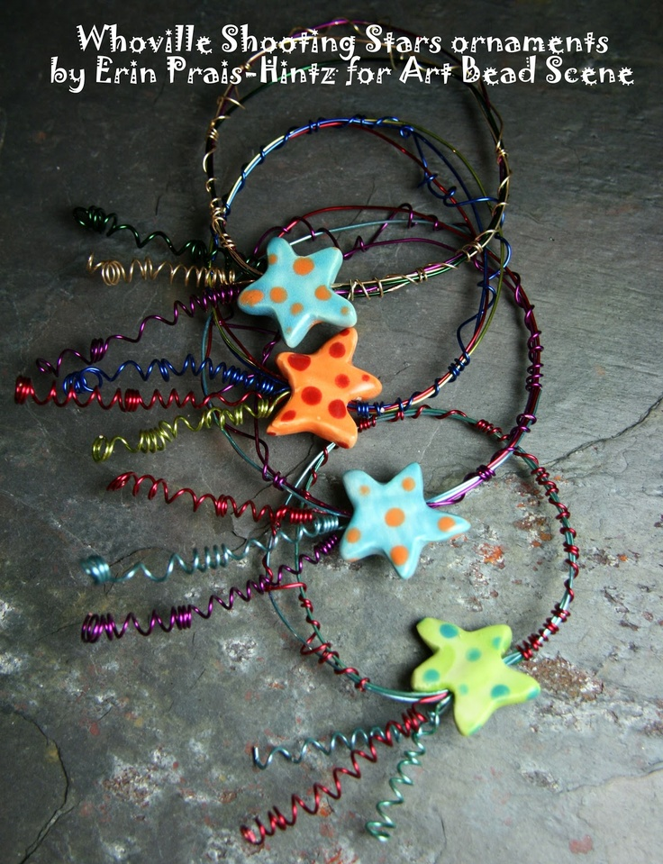 Art Bead Scene Blog: On the 3rd Day of Christmas: Whoville Shooting Stars