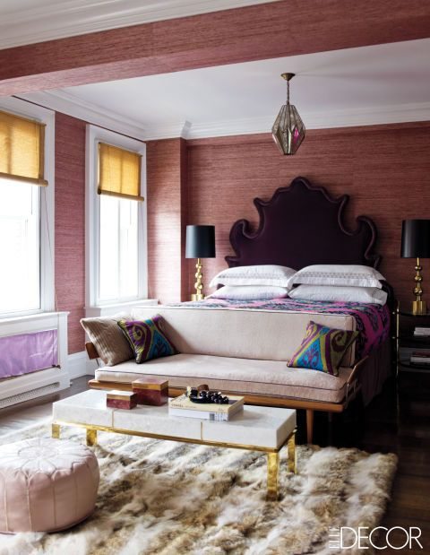 50 best gray with purple undertones room images on pinterest for Elle decor beds