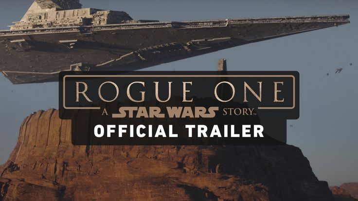 Rogue One: A Star Wars Story Trailer (Official). Watch the official trailer for Rogue One: A Star Wars Story, in which a group of unlikely heroes band together on a mission to steal the plans to the Death Star, the Empire's ultimate weapon of destruction. Rogue One: A Star Wars Story arrives in theaters December 16, 2016.