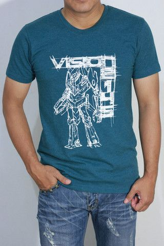 Vision 2145 T-Shirt – Red|White1945