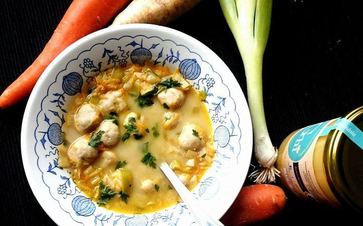 Rychlá drožďová polévka
